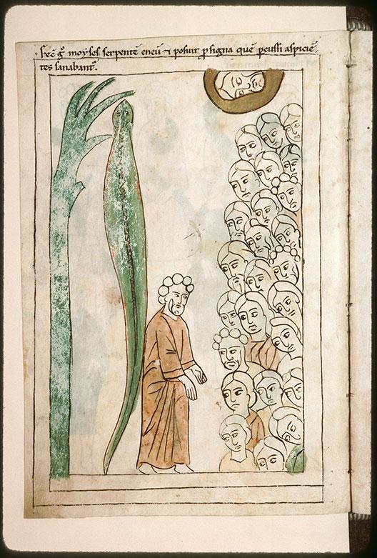 Bible en images - Moïse et le serpent d'airain_0