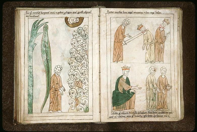 Bible en images - Moïse tuant Sihôn et Og_0