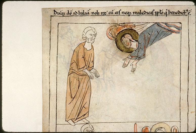 Bible en images - Dieu parlant à Balaam_0