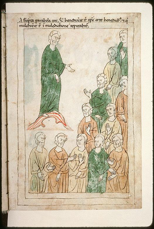 Bible en images - Oracle de Balaam adressé au peuple_0
