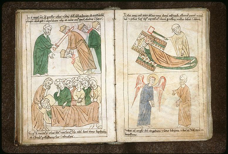 Bible en images - Vocation de Gédéon_0