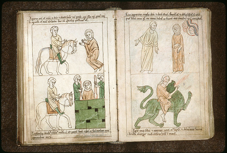 Bible en images - Fille de Jephté acceptant le voeu de son père_0