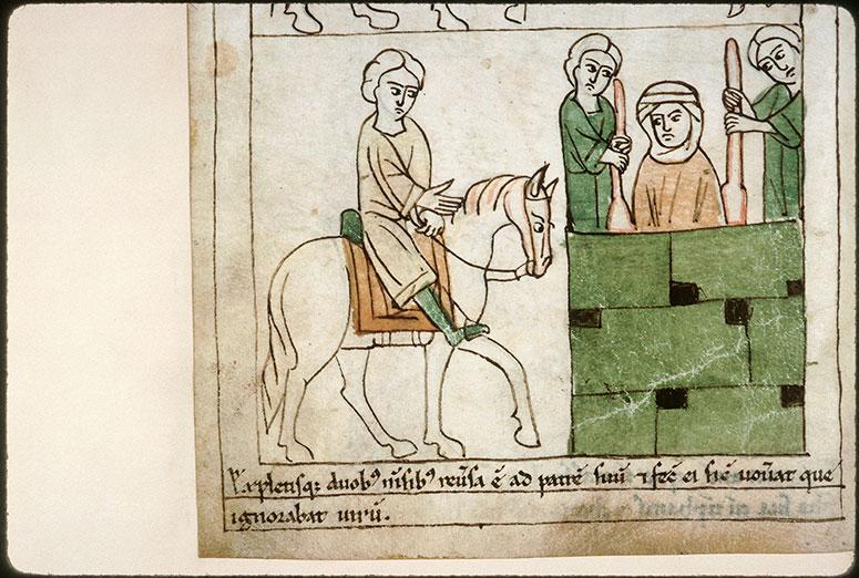 Bible en images - Sacrifice de Jephté_0