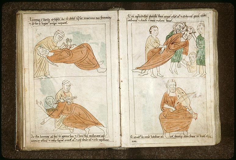 Bible en images - Samson et Dalila_0