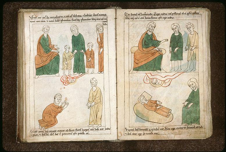 Bible en images - Elqana et ses deux femmes_0