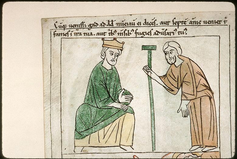 Bible en images - David et Gad_0