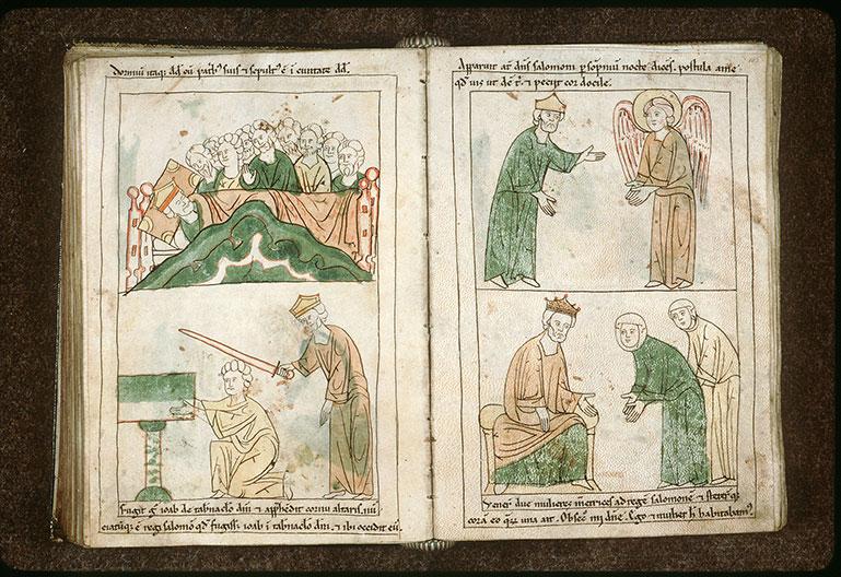 Bible en images - Songe de Gabaôn_0