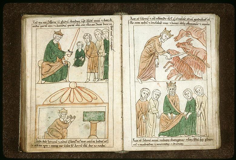Bible en images - Salomon et ses femmes étrangères_0