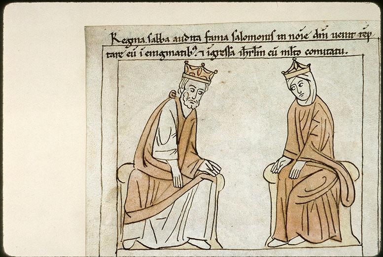 Bible en images - Salomon et la reine de Saba_0