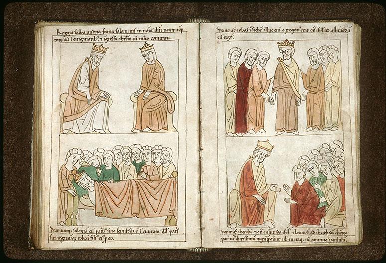 Bible en images - Roboam fait roi_0