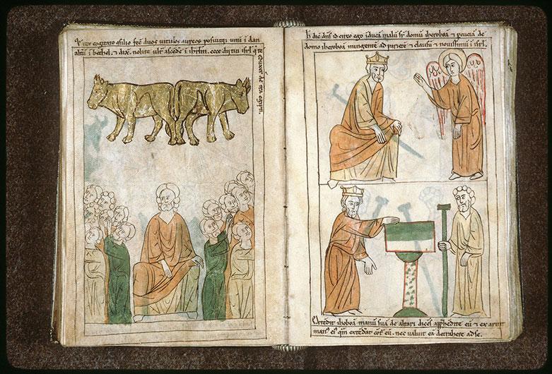 Bible en images - Veaux d'or de Jéroboam_0