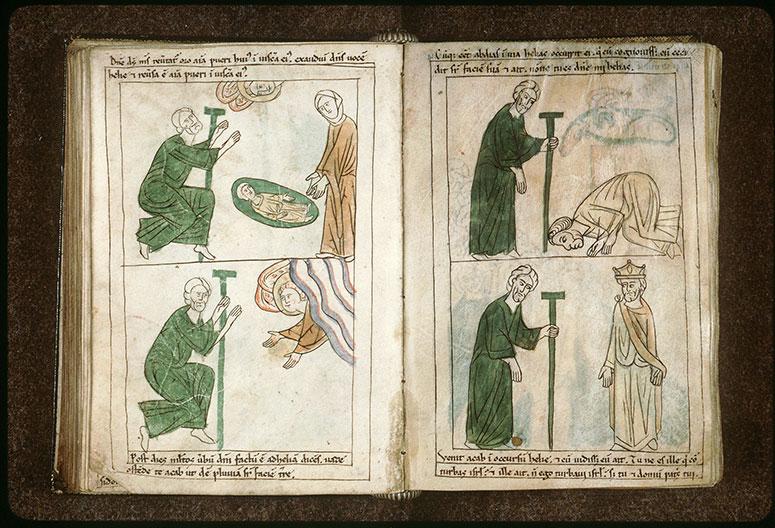 Bible en images - Rencontre d'Elie et d'Obadyahu_0