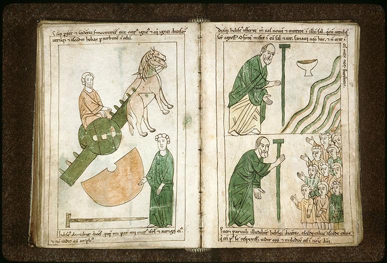 Bible en images - Ascension d'Elie_0