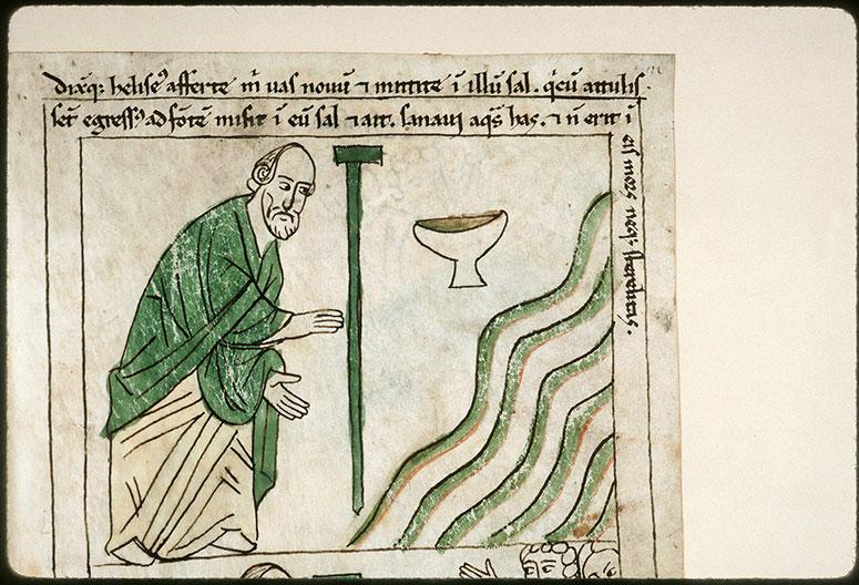 Bible en images - Assainissement des eaux de Jéricho_0