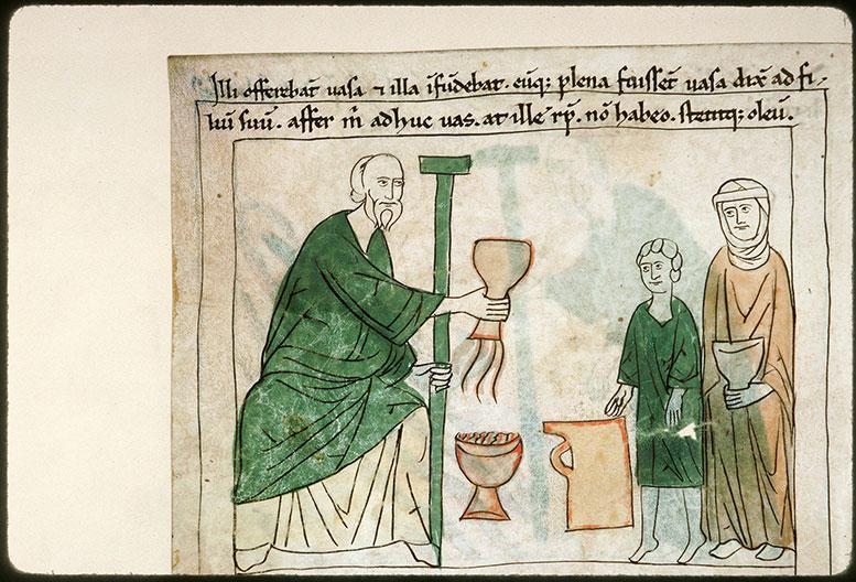 Bible en images - Elisée et l'huile de la veuve_0