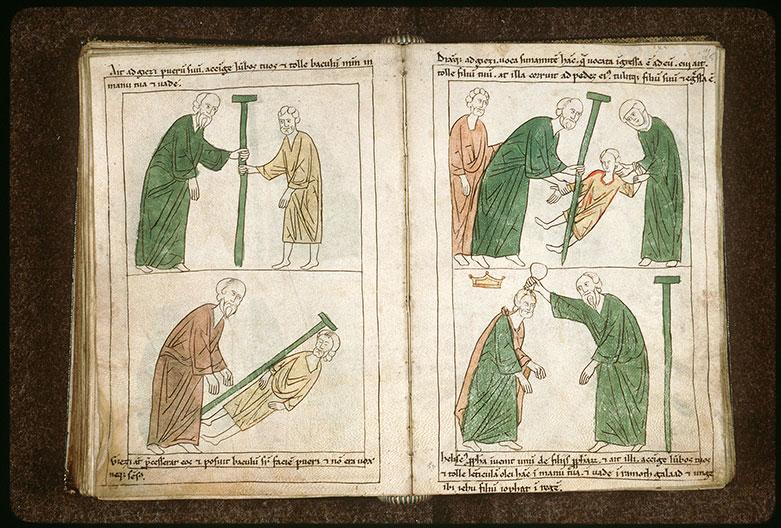 Bible en images - Onction de Jéhu par un prophète_0
