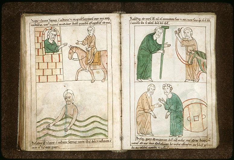 Bible en images - Elisée et Naamân_0