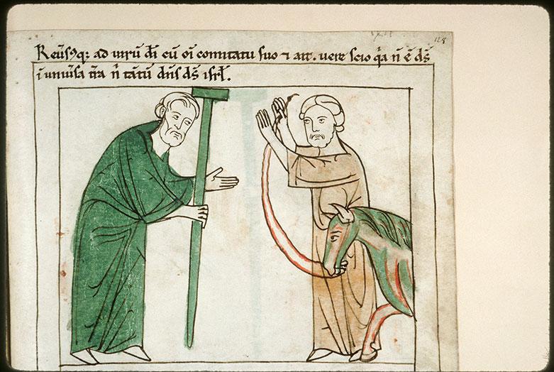 Bible en images - Naamân confessant sa foi devant Elisée_0