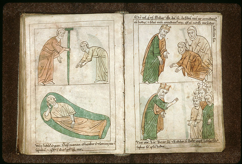 Bible en images - Géhazi lépreux_0