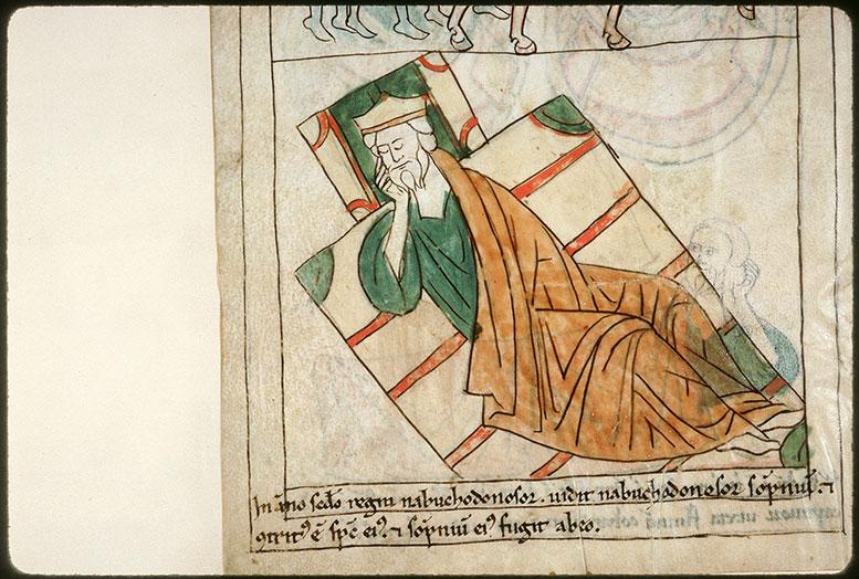Bible en images - Nabuchodonosor endormi_0