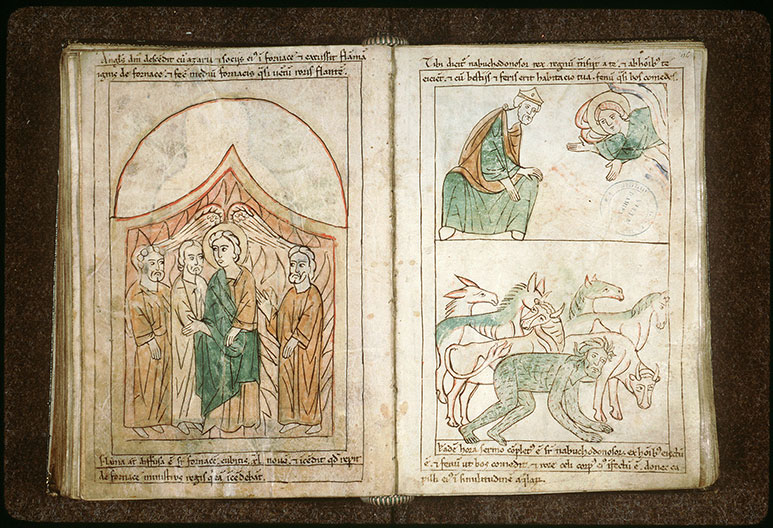 Bible en images - Annonce du châtiment de Nabuchodonosor_0