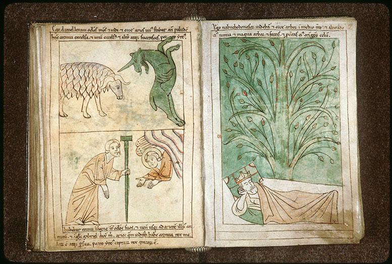 Bible en images - Vision de Daniel : le bélier et le bouc_0