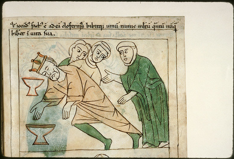 Bible en images - Judith et Holopherne ivre_0