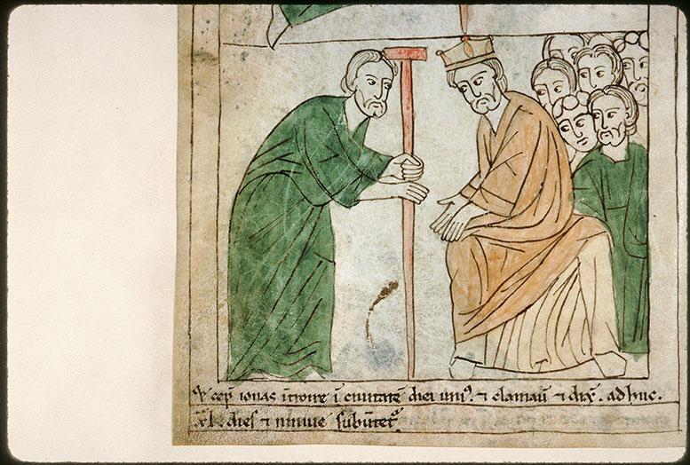 Bible en images - Jonas s'adressant aux Ninivites_0