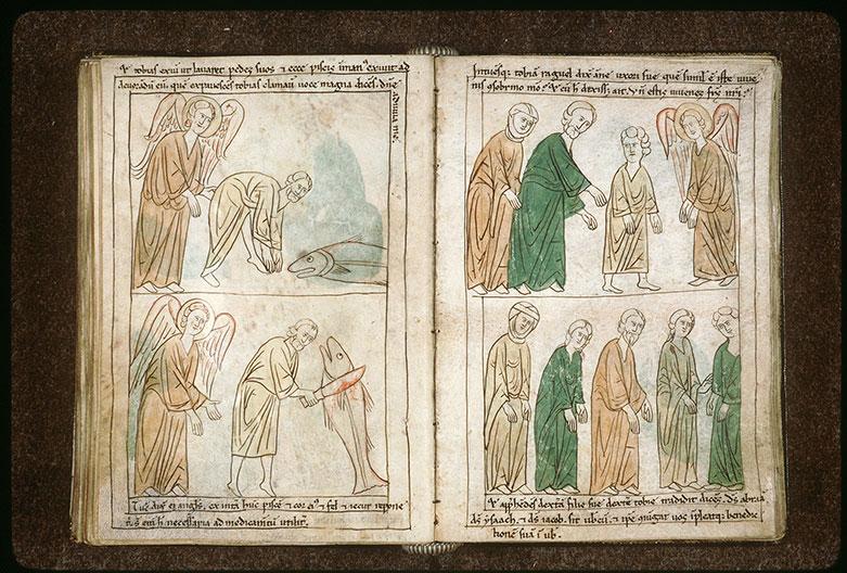 Bible en images - Mariage de Tobie et de Sarra_0