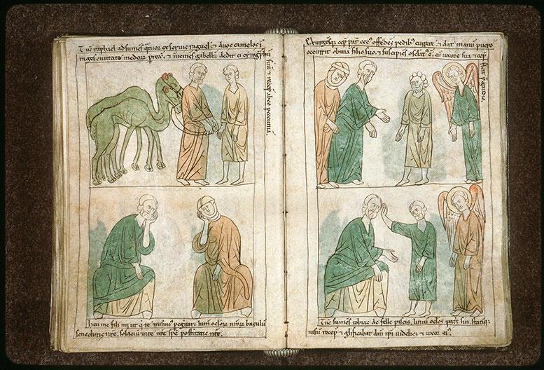 Bible en images - Tristesse de Tobit et d'Anna_0