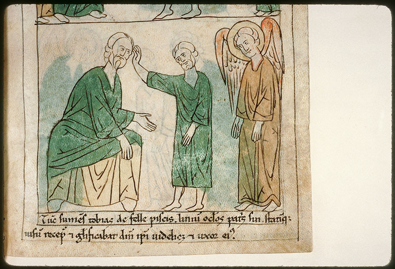 Bible en images - Guérison de Tobit_0