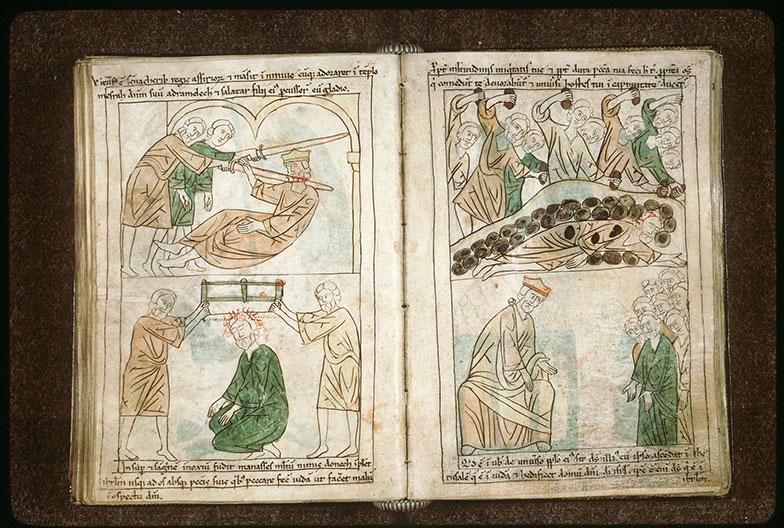 Bible en images - Cyrus mettant fin à l'exil des Juifs_0