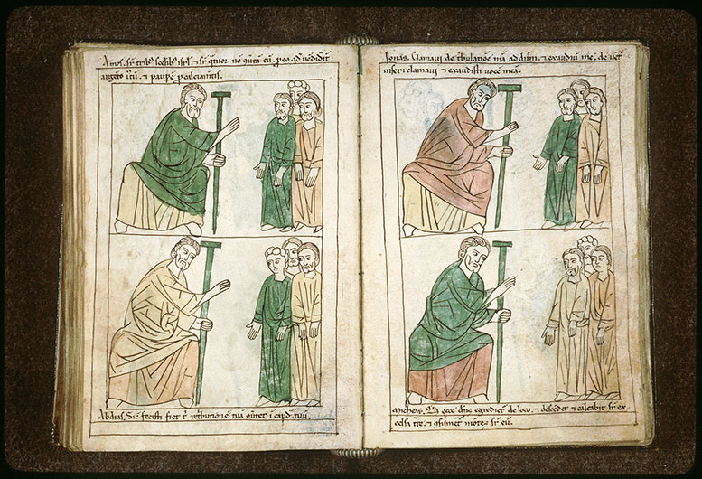 Bible en images - Amos s'adressant au peuple_0