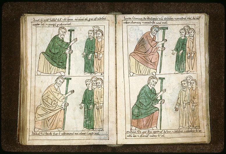 Bible en images - Abdias s'adressant au peuple_0