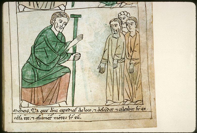 Bible en images - Michée s'adressant au peuple_0