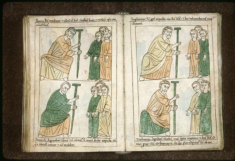 Bible en images - Habacuc s'adressant au peuple_0