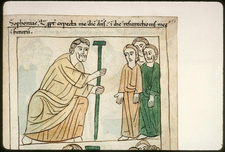 Bible en images - Sophonie s'adressant au peuple_0