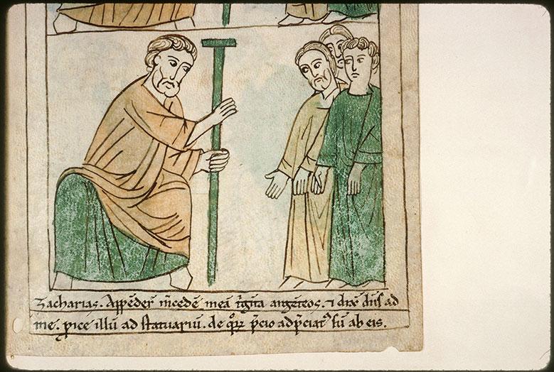 Bible en images - Zacharie s'adressant au peuple_0