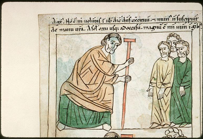 Bible en images - Aggée s'adressant au peuple_0