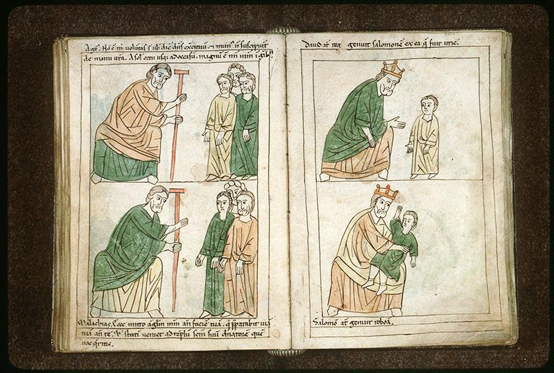 Bible en images - Salomon et Roboam enfant_0