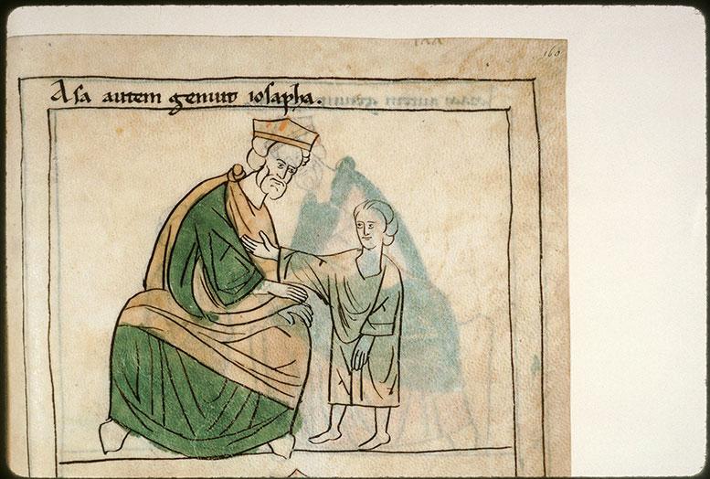Bible en images - Asa et Josaphat enfant_0