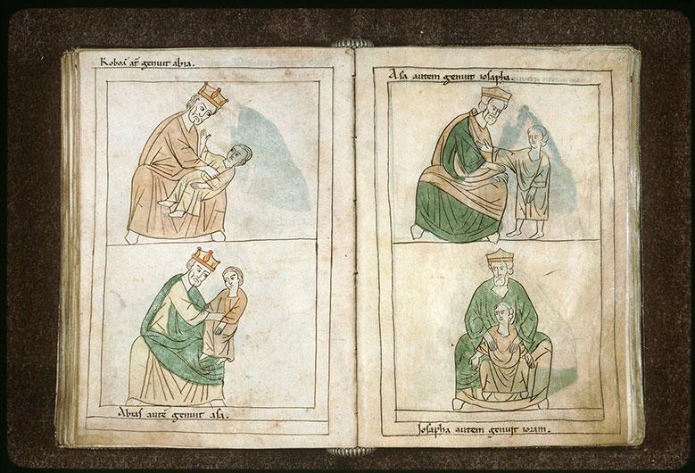 Bible en images - Josaphat et Joram enfant_0