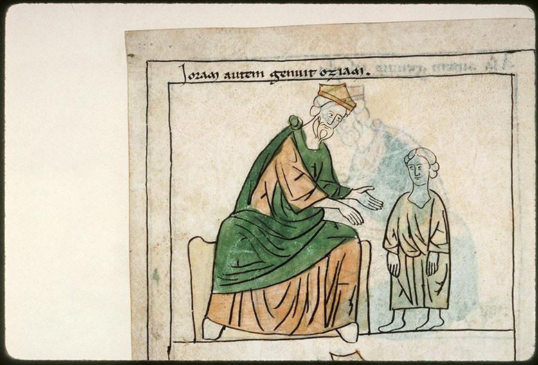 Bible en images - Joram et Ozias enfant_0