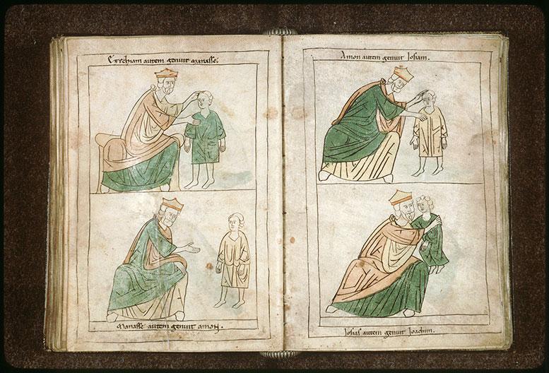 Bible en images - Manassé et Amon enfant_0