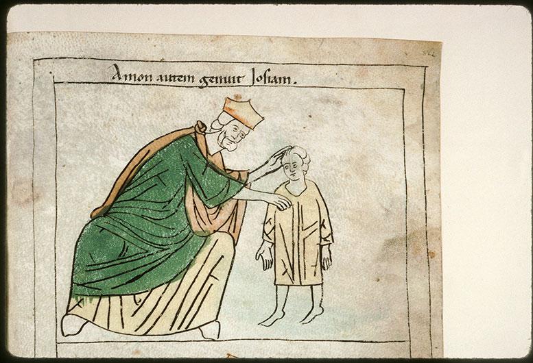 Bible en images - Amon et Josias enfant_0