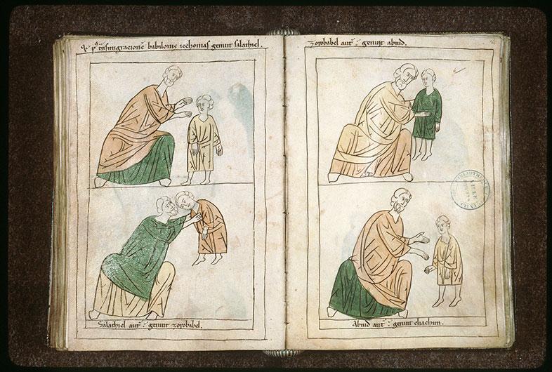 Bible en images - Zorobabel et Abioud enfant_0