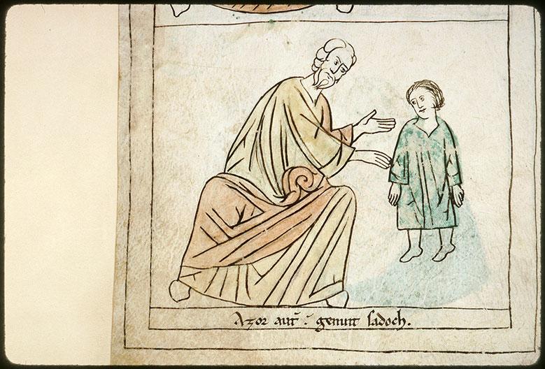Bible en images - Azor et Sadok enfant_0