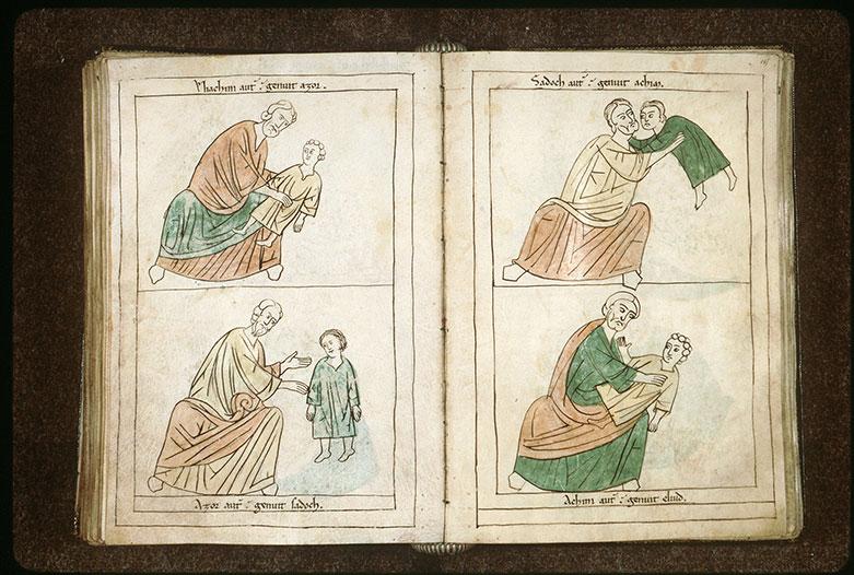 Bible en images - Sadok et Akhim enfant_0