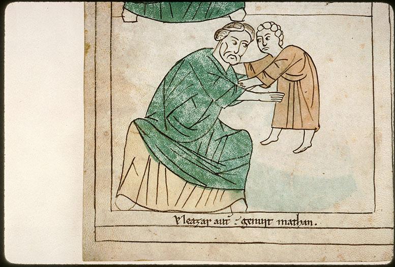 Bible en images - Eléazar et Matthan enfant_0