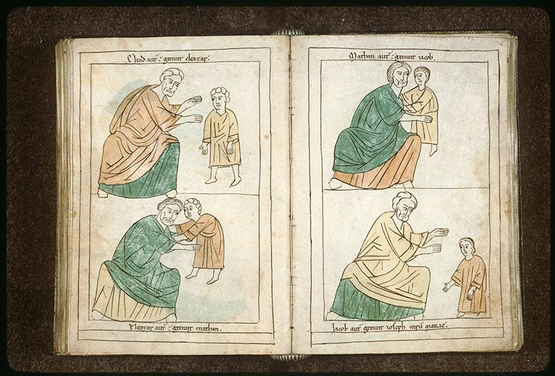 Bible en images - Matthan et Jacob enfant_0